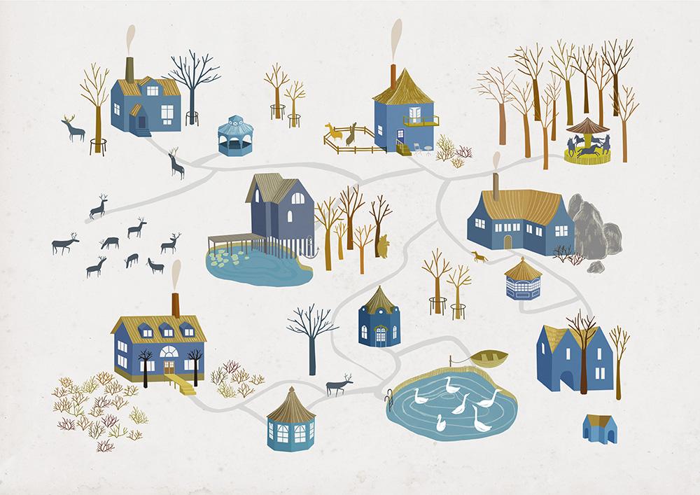 Ulrika Kestere Blue Village